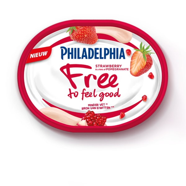 Philadelphia Free to Feel Good Strawberry